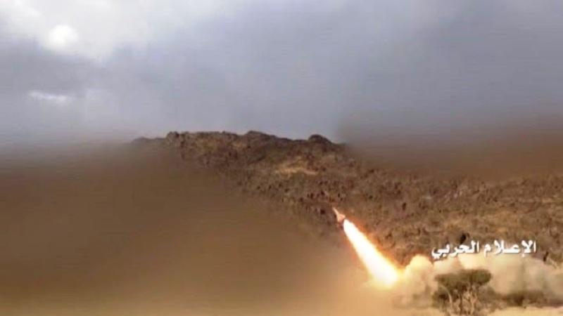 جنوب غرب عربستان هدف موشک ارتش یمن قرار گرفت
