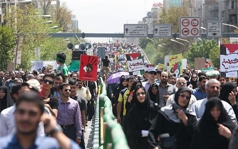 Image result for راهپیمایی روز قدس