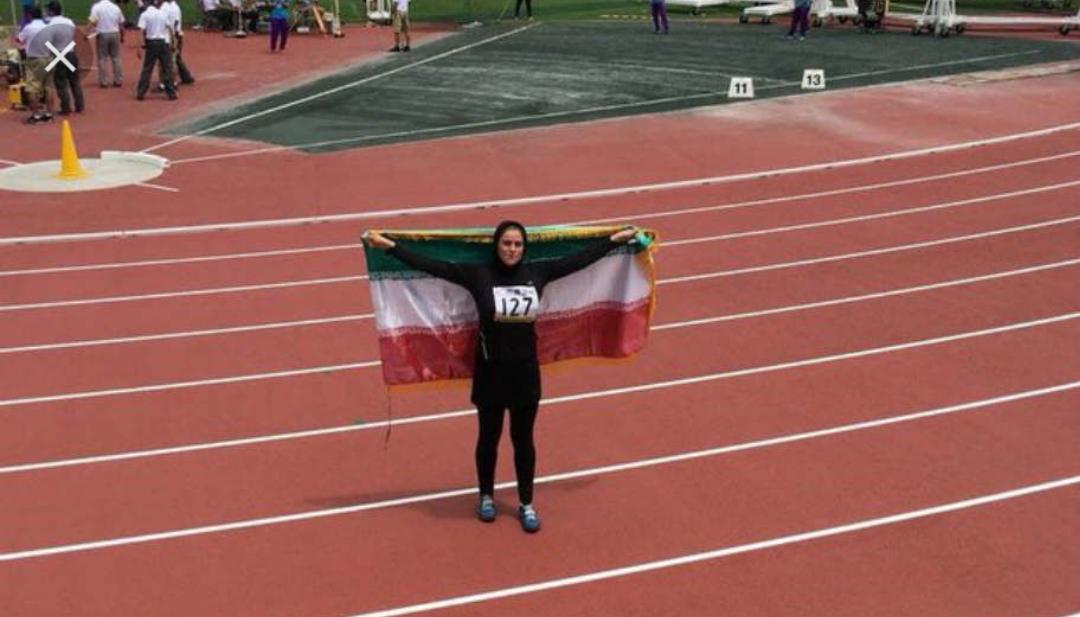 ریحانه آرانی تاریخ ساز شد/ کسب اولین مدال یک ورزشکار دختر در رقابت های قهرمانی آسیا