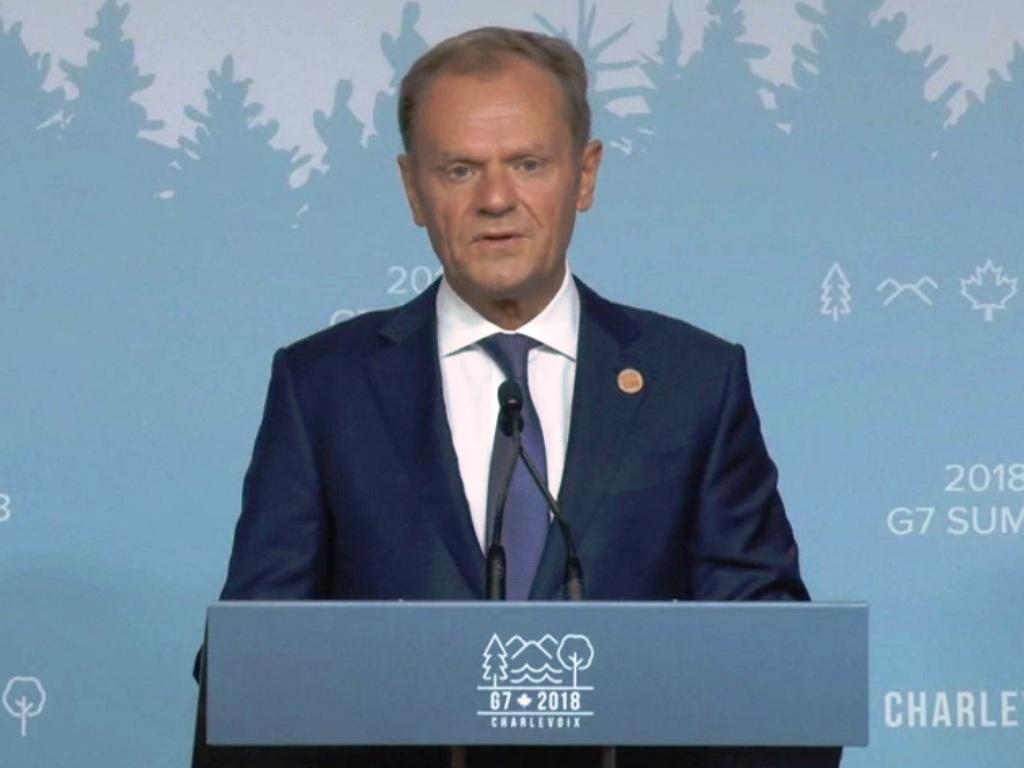 رئیس شورای اروپا:آمریکا نظم بین المللی را به چالش کشیده است