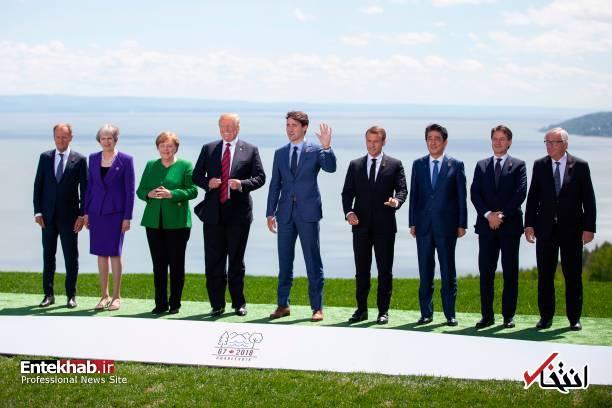 تصاویر : حاشیههای نشست رهبران گروه ۷