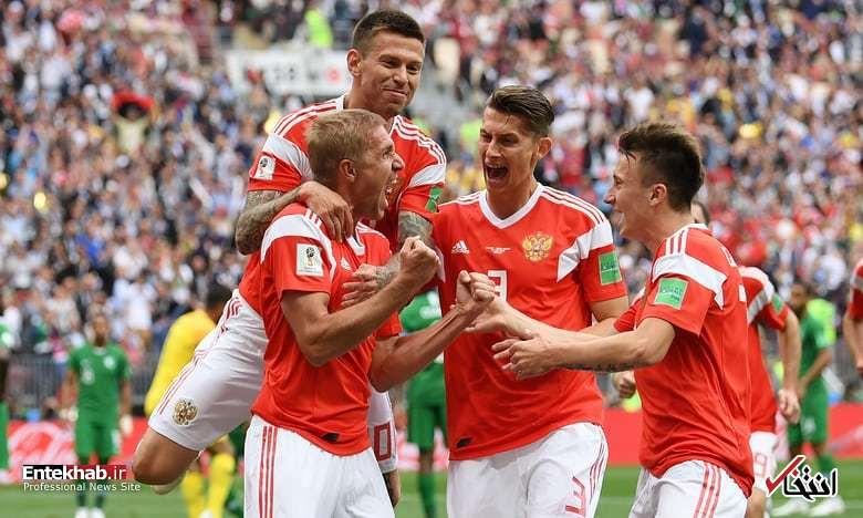 گزارش زنده افتتاحیه جام جهانی؛ ترکیب تیم های روسیه و عربستان مشخص شد