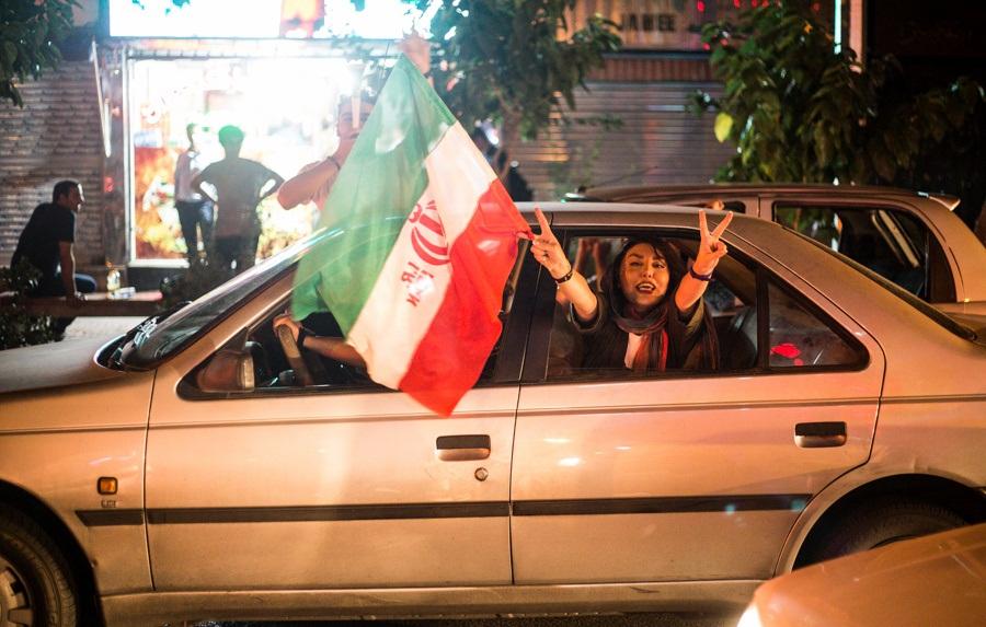 تصاویر منتخب از شادی مردم پس از پیروزی مقابل مراکش