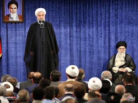 روحانی: شرایط با تحریمهای سالهای ۹۰ و ۹۱ متفاوت است؛ امروز آمریکا در انزوا قرار گرفته / به جز چند کشور کوچک، همه جهان با خروج آمریکا از برجام مخالفت کردند؛ این به معنای پیروزی ایران است / در همه تصمیمات، رهبر انقلاب راهنما و هادی دولت بودهاند