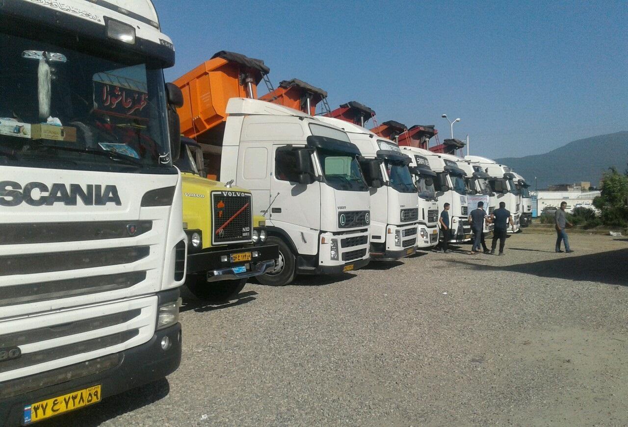 بررسی اعتراضات کامیونداران در مجلس