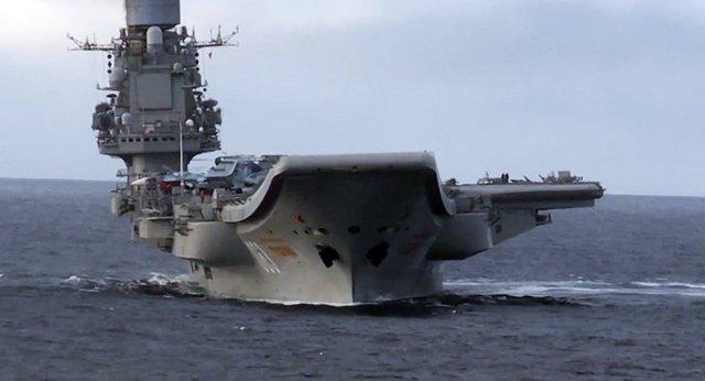«چیدمان نیروی دریایی روسیه در مدیترانه متعادل است»