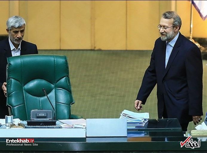 انتخابات هئیات رئیسه مجلس / لاریجانی رئیس مجلس ماند