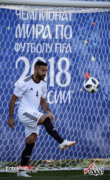 تصاویر : نخستین تمرین تیم ملی ایران پس از بازی مقابل اسپانیا