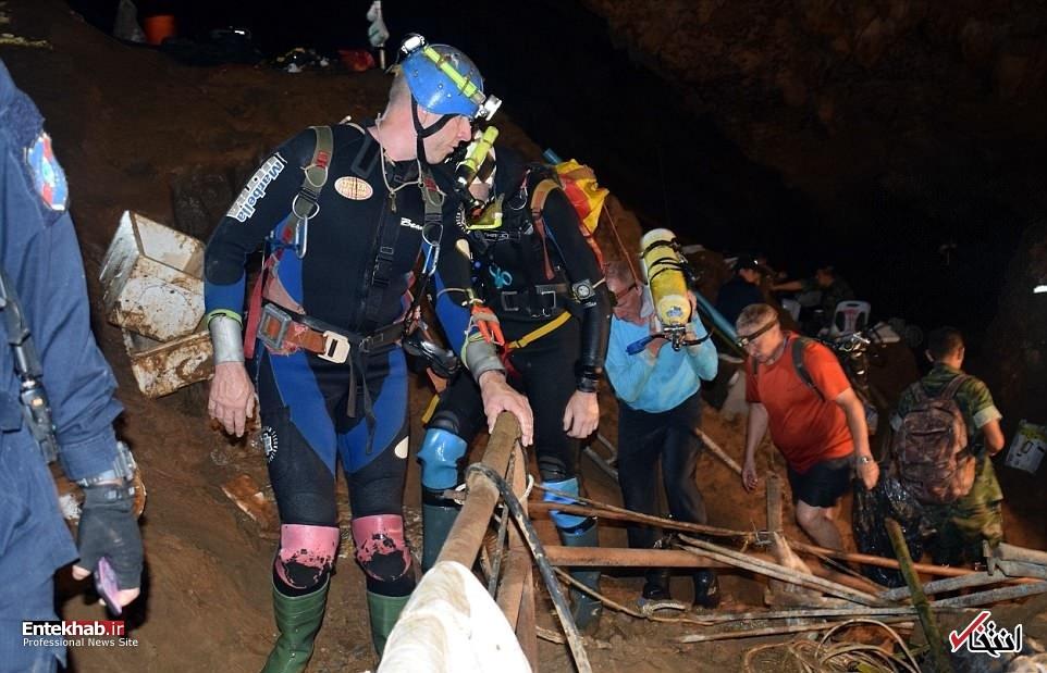 ۱۳ کودک تایلندی گمشده پس از ۱۰ روز جستجو چگونه نجات پیدا کردند؟ +فیلم