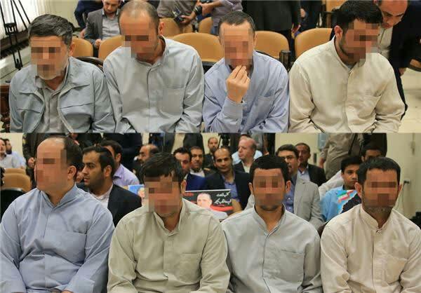 ۸ نفر از محکومان حادثه تروریستی مجلس و حرم امام اعدام شدند