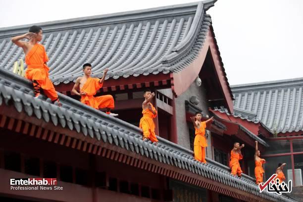 تصاویر : رزمی کاران معبد شائولین