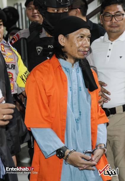 تصاویر : محاکمه رهبر داعش در اندونزی؛ امان اعدام میشود