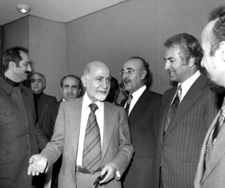 عباس امیرانتظام، سخنگوی دولت موقت درگذشت