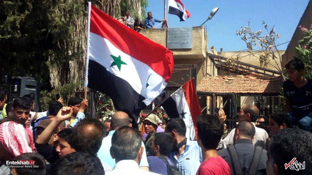 عکس/ <a class='no-color' href='http://newsfa.ir/'>درعا</a> آزاد شد