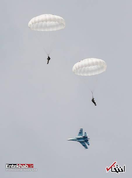 تصاویر : رزمایش نیروی هوایی روسیه