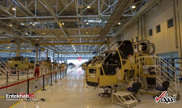 عکس/ کارخانه تولید بالگرد جنگی در ترکیه