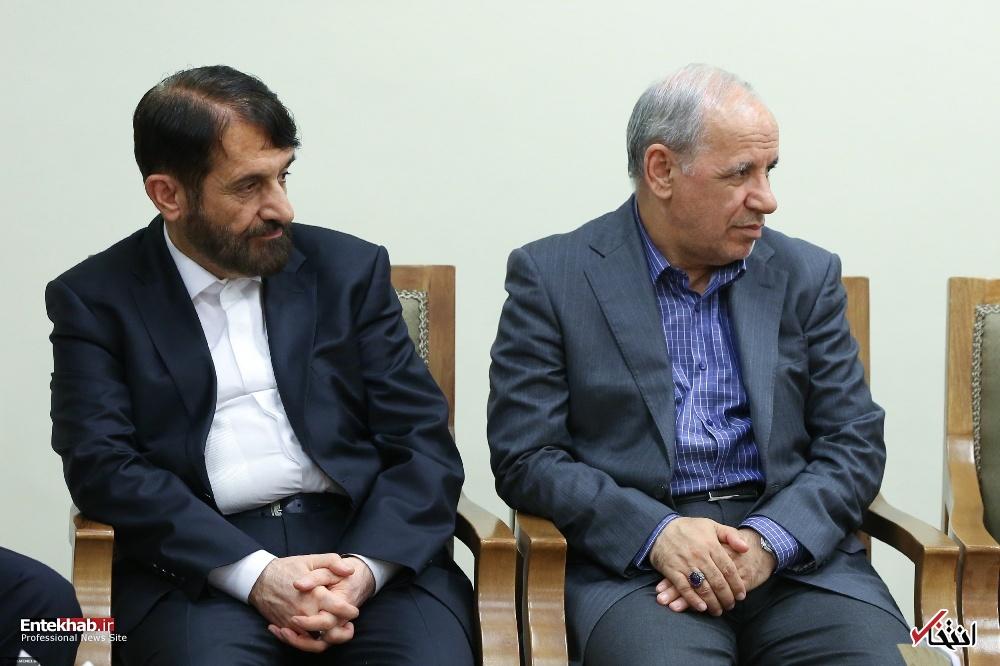 تصاویر : دیدار رئیسجمهور و اعضای هیئت دولت با رهبر انقلاب
