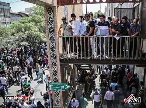 هیچ فردی در تجمع کسبه مقابل مجلس دستگیر نشده