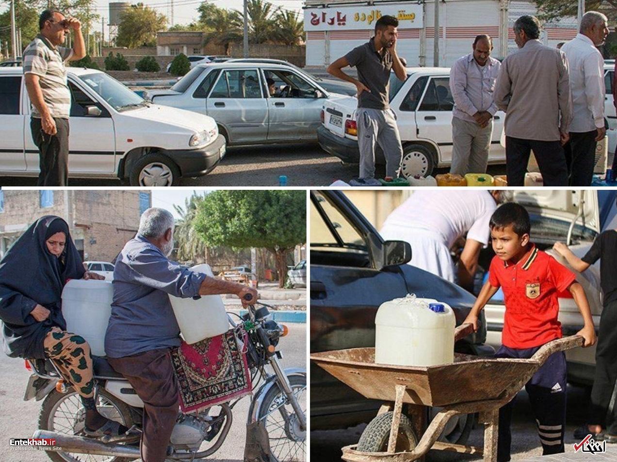 بحران آب در آبادان