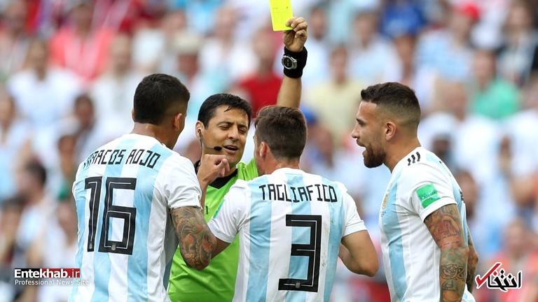 جامجهانی/ گزارش زنده: آرژانتین ۰ - ۱ فرانسه