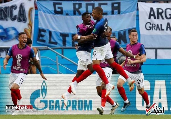 جامجهانی/ آرژانتین ۳ - ۴ فرانسه/ خداحافظی تلخ مسی و آرژانتین از جامجهانی