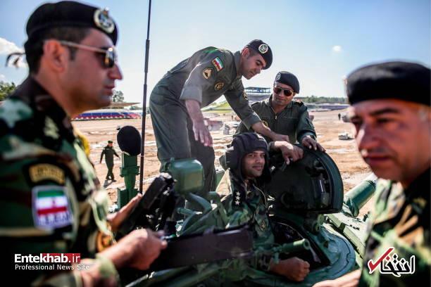 تصاویر : نیروهای مسلح ایران در مسابقات نظامی روسیه