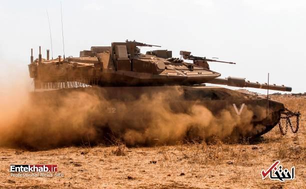 تصاویر : رزمایش ارتش اسرائیل در مرز سوریه