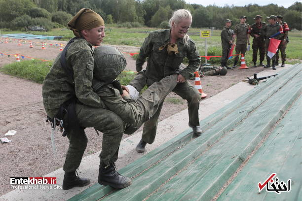 عکس/ زنان در مسابقات ارتشهای جهان