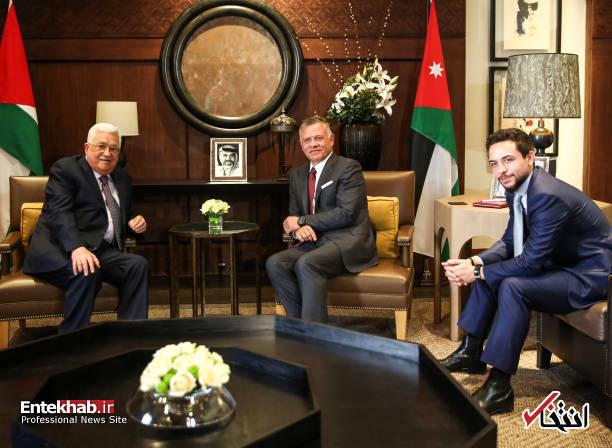 عکس/ نخستین دیدار پادشاه اردن پس از ۴۰ روز غیبت