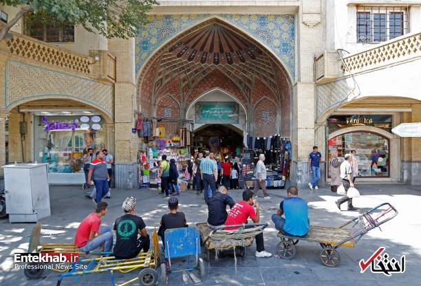 تصاویر : گشتی در دل بازار بزرگ تهران