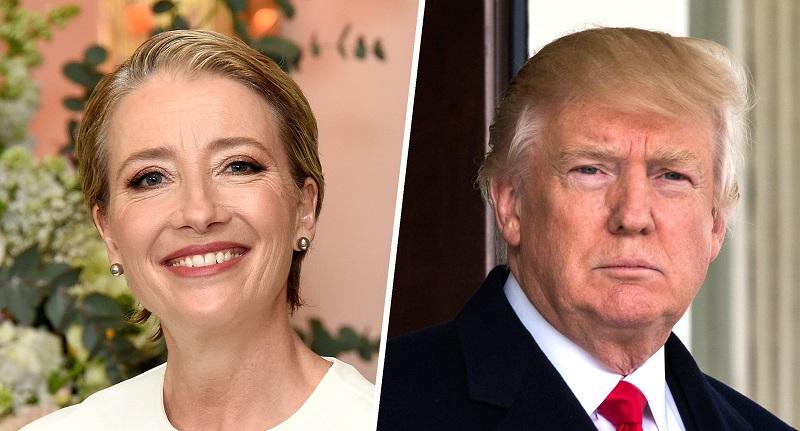 افشای علاقه ترامپ به برقراری رابطه با یک بازیگر زن انگلیسی +عکس