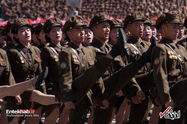 تصاویر : رژه بزرگ ارتش کره شمالی با حضور کیم جونگ اون