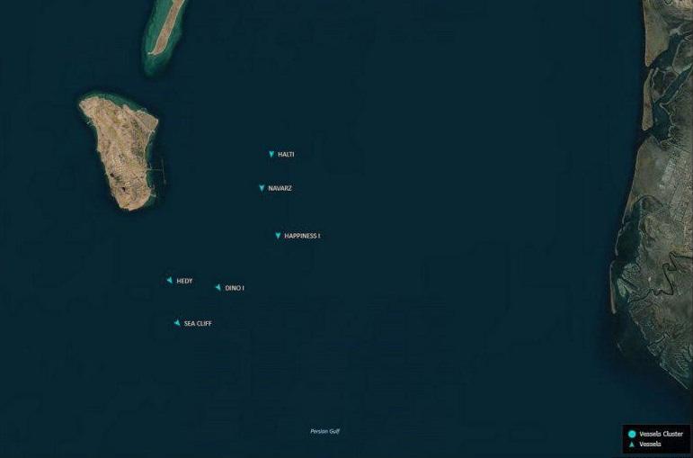 راهکار ایران برای مقابله با تحریم نفتی ترامپ: ذخیره سازی نفت شناور روی دریا