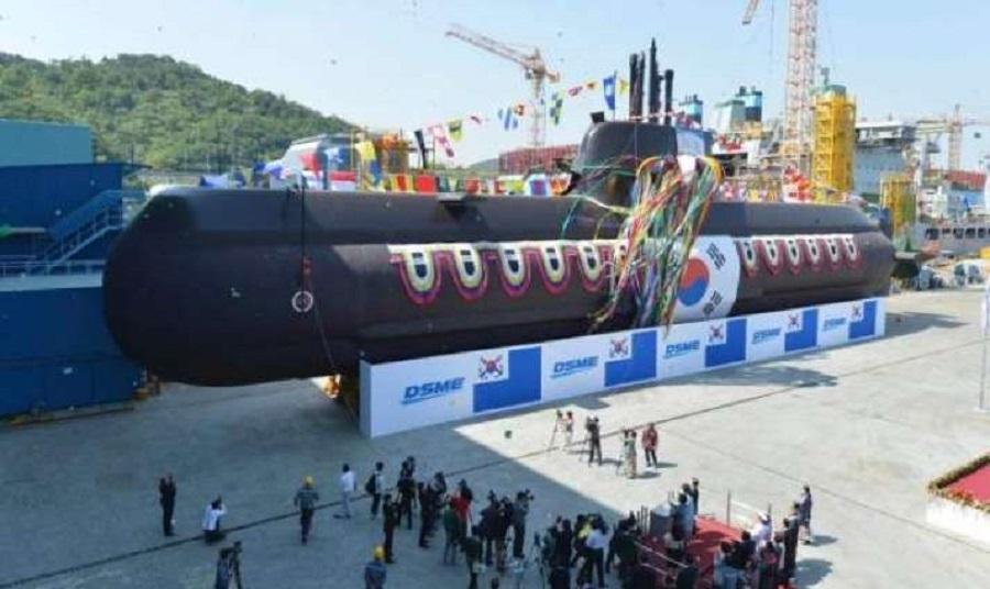 کره جنوبی یک هفته قبل از دیدار سران دو کره، اولین زیردریایی موشکی را به خدمت گرفت