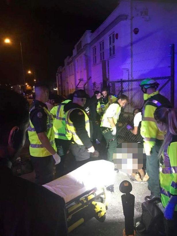 حمله با خودرو به عزاداران حسینی مقابل مسجدی در لندن +تصاویر