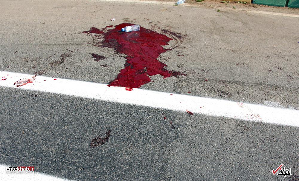 تصاویر : حمله تروریستی به رژه نیروهای مسلح در اهواز
