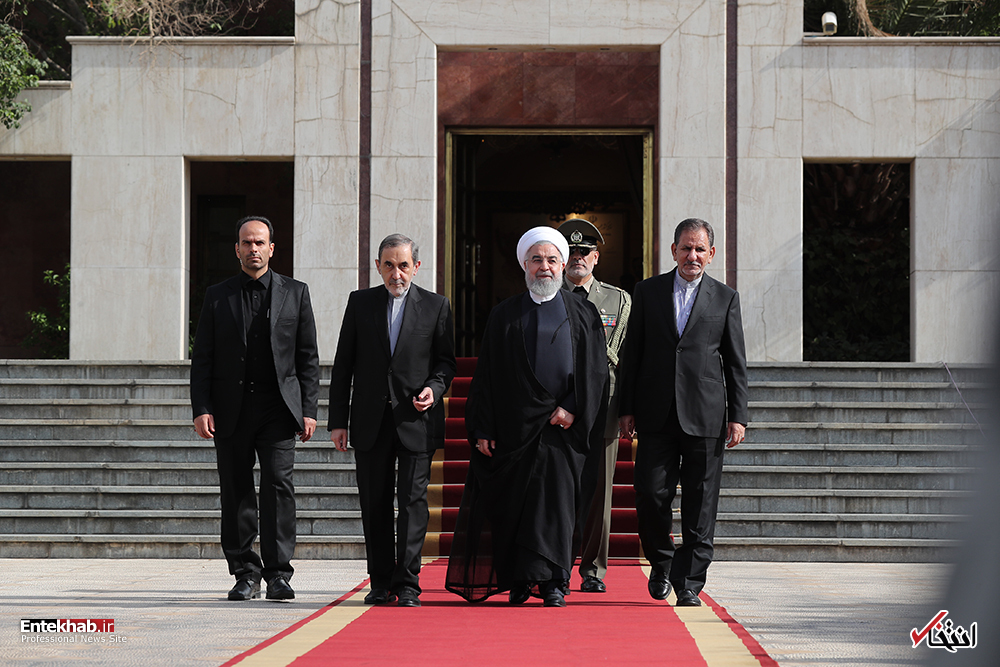 بدرقه رسمی و ترک تهران به مقصد نیویورک