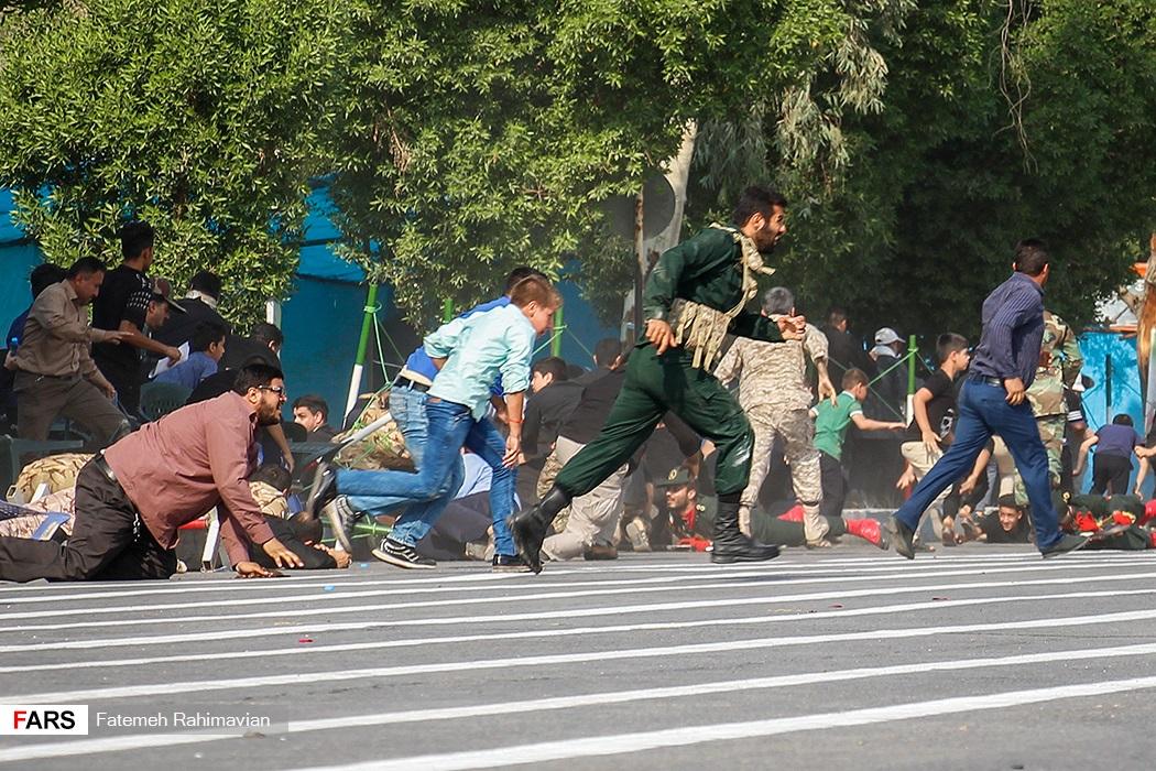 عکس حادثه تروریستی امروز اهواز