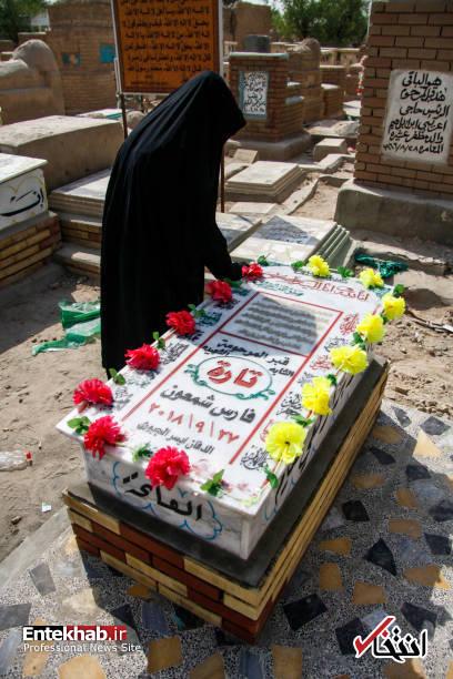 عکس/ قبر ملکه زیبایی عراق