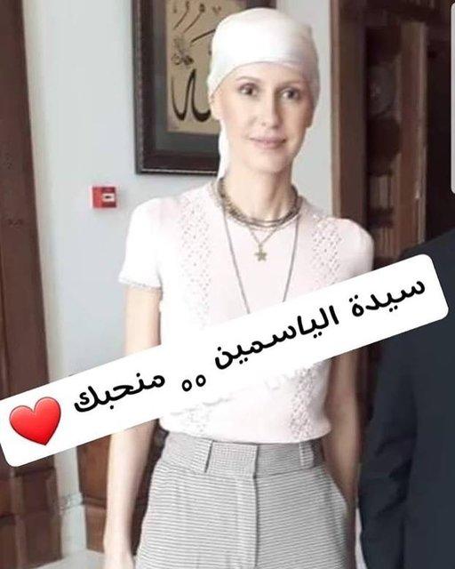 تصاویری از همسر بشار اسد با ظاهری کاملا متفاوت پس از آغاز شیمی درمانی