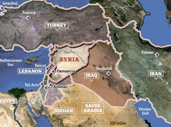 آسمان خاورمیانه در اختیار واشنگتن، خاک آن تحت کنترل تهران / آیا ایران و اسراییل در سوریه به جنگ هم میروند؟