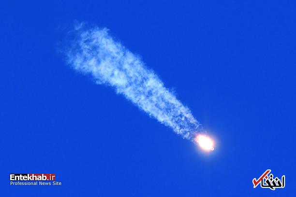 تصاویر : شلیک ناموفق موشک سایوز به ایستگاه فضایی