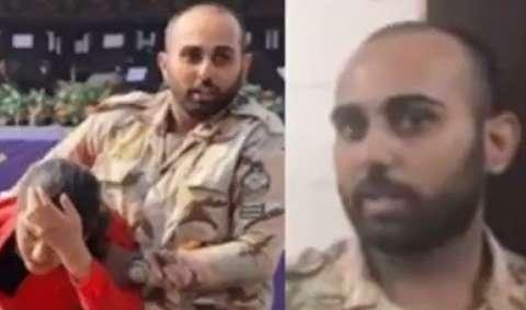 فیلم/ گفتگو با سرباز شجاع در روز حمله اهواز: گفتم اگر تیراندازی شد من را از پشت بزنند