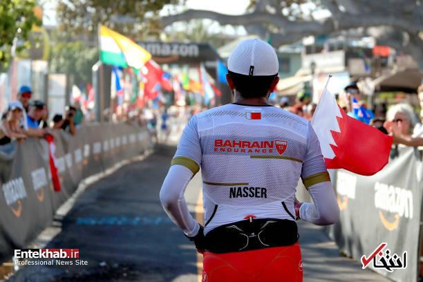 تصاویر : پسر پادشاه بحرین در مسابقات مرد آهنی