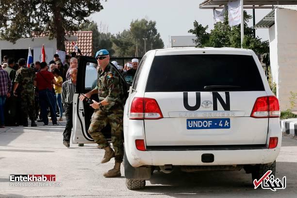 تصاویر/ بازگشایی گذرگاه قنیطره در جولان اشغالی