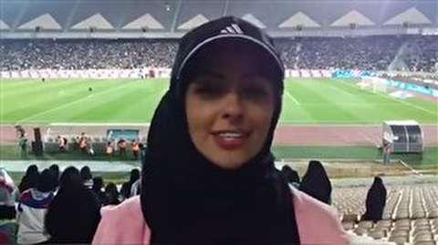 فیلم/ صحبت های نفیسه روشن درباره شادی بانوان از حضور در ورزشگاه آزادی