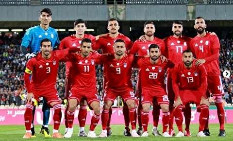 ایران در رده ۳۳ جهان ایستاد/ شاگردان کیروش کماکان صدرنشین آسیا