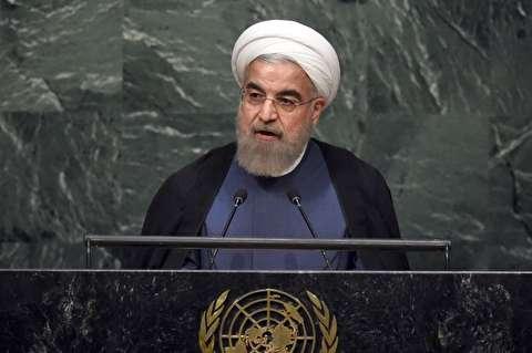 روحانی در سازمان ملل خطاب به آمریکا: من گفتوگو را از همین جا آغاز میکنم / برای گفتگو نیاز به گرفتن عکس های دو نفره نیست /  سخن ما روشن است؛ تعهد در برابر تعهد، گام در برابر گام / برخی فکر میکنند با تقویت ناسیونالیزمِ افراطی که یادآور تفکر نازی هاست، می