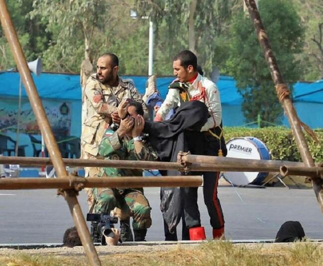 فیلمی از حادثه تروریستی اهواز برای نمایندگان پخش شد که در فضای مجازی منتشر نشده / این فیلم با دوربین وزارت اطلاعات توسط