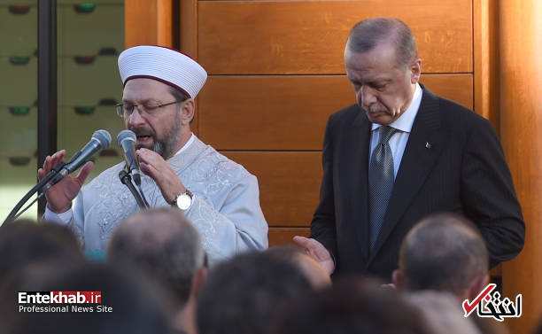 تصاویر : تدابیر شدید امنیتی هنگام افتتاح بزرگترین مساجد اروپا توسط اردوغان